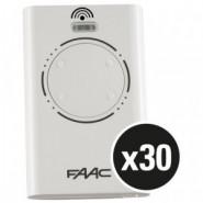 FAAC - PACK DE 30 EMETTEURS RADIO 868
