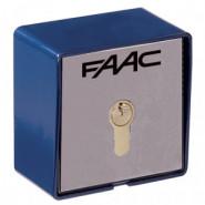 FAAC - CONTACTEUR A CLE T21ENCASTRE A CABLE