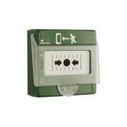 AIPHONE - Boitier bris de glace vert