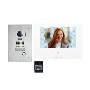 Kit visiophone JOS1FW encastré - Wi-Fi intégré - AIPHONE