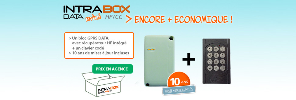 Clavier GSM Intrabox