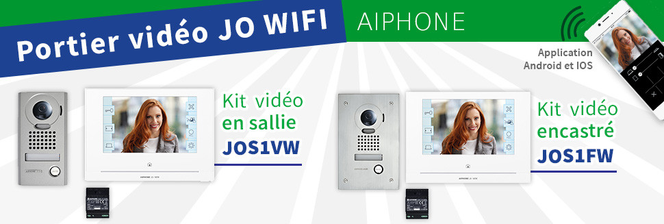 Kits visiophone JO - AIPHONE