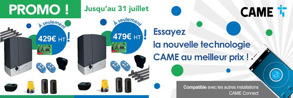 Promotion CAME kit BXV
